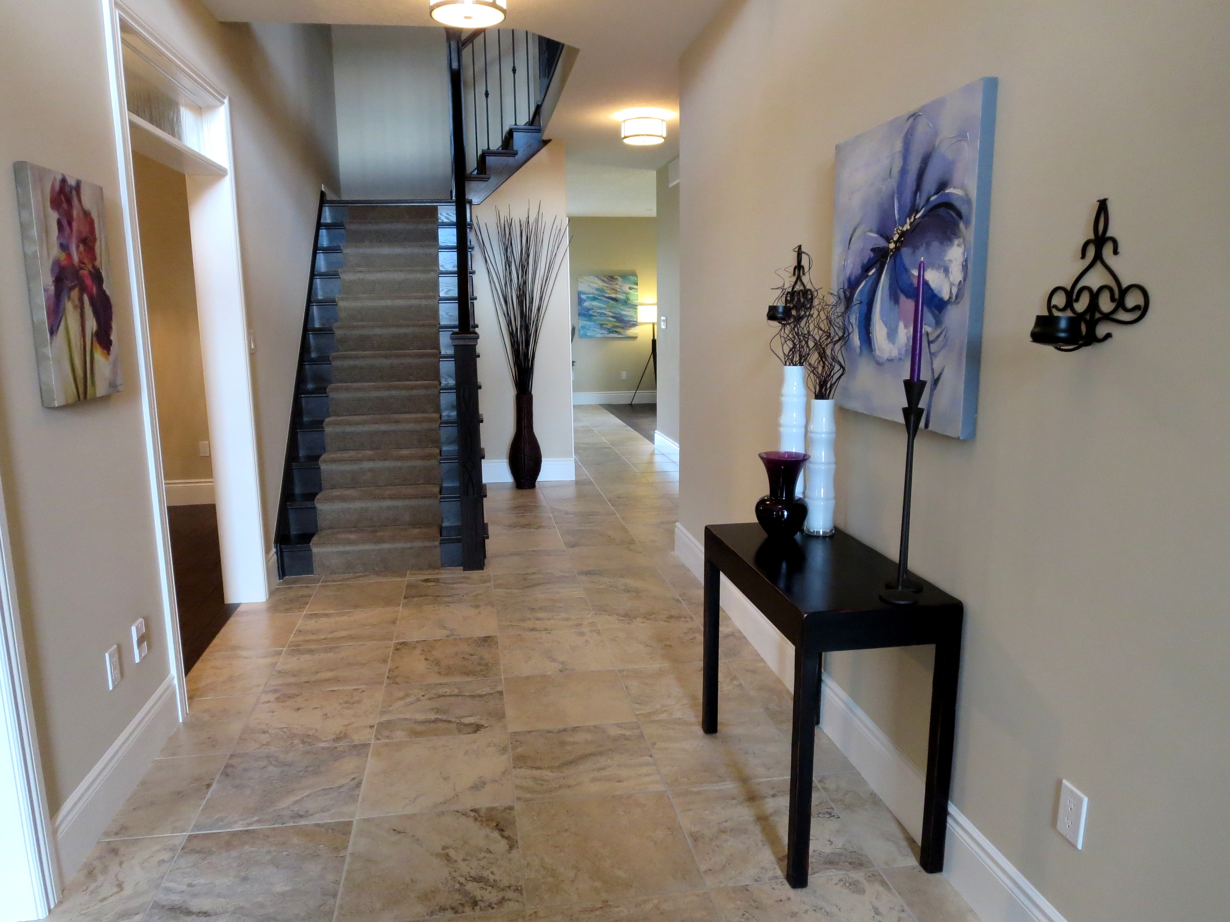 Model Home Foyer Pictures : Redesign and home staging portfolio styleco design